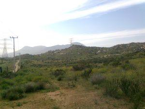 Road to Valle Redondo (Tijuana B.C.)