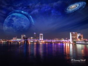 The universe over the city