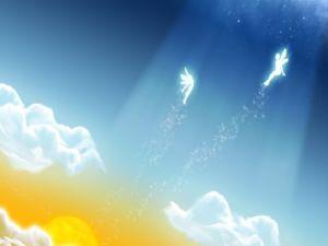 Fairies in the sky