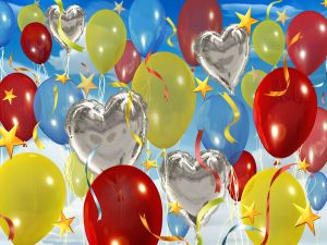 Balloons for a children's party