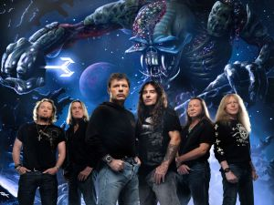 "The group Iron Maiden with their album ""The Final Frontier"""