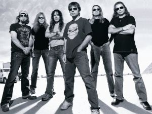 Iron Maiden on the road