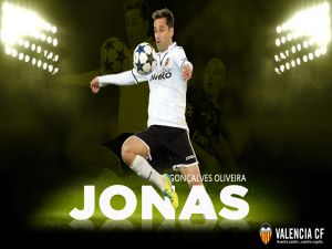Jonas, player of Valencia CF
