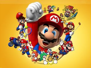 The worlds of Mario