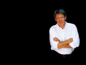 Harrison Ford with crossed arms
