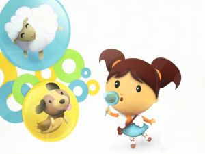 Bubbles of animals