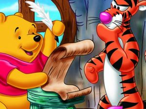 Pooh and Tiger write a letter