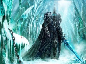 Lich King in the forest