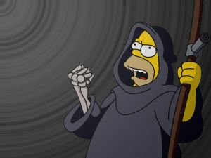 Homer as The Death