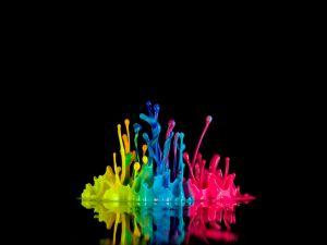 Paint of colors