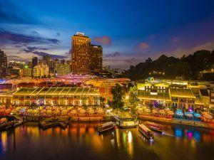 Pier in Singapore