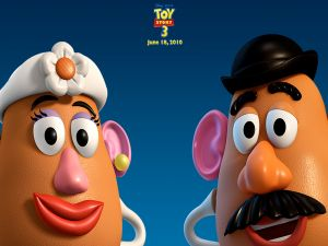 Mr. and Mrs. Potato, Toy Story 3