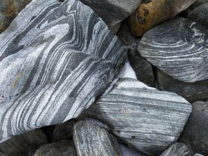 Stones with lines