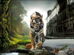 Cyber-tiger