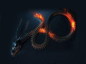 Cyber-dragon