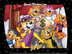 Top Cat and the gang