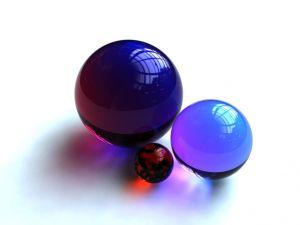 Bright balls