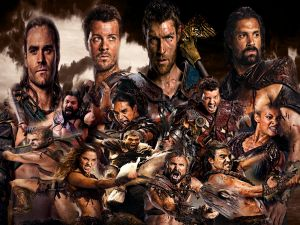 Spartacus, TV series