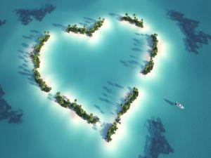 Heart islands