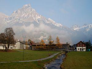 View of Hahnen's summit (2602m), Switzerland
