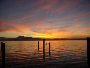 Sunset on Lake Zug