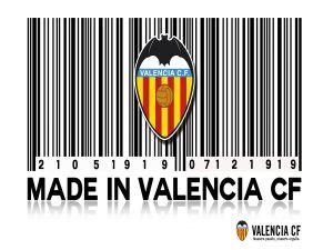 Valencia CF, bar-code