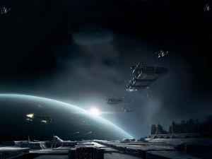 Interstellar battle
