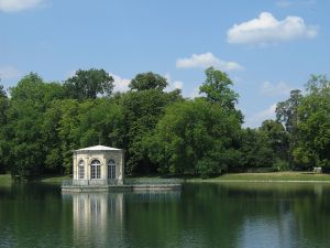 Teahouse at the Palace of Fontainebleau