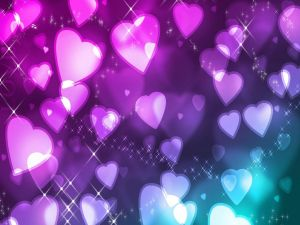 Hearts to two colors