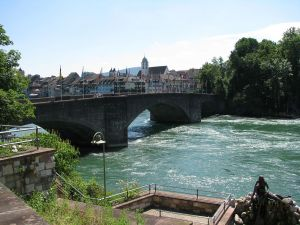 Old Rhine Bridge, Rheinfelden (Switzerland)