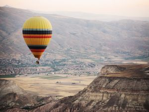 Colorful Hot air ballooning