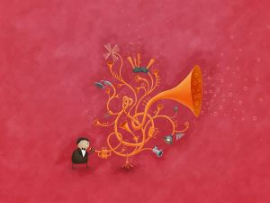 The magical saxophone