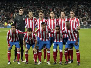 Players of Atletico Madrid
