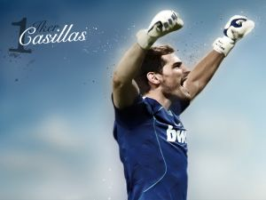 Iker Casillas number one