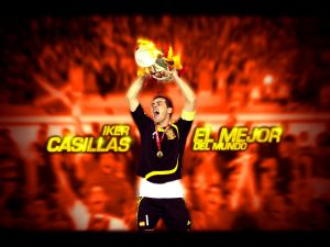 Iker Casillas, the best in the world