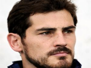 The footballer Iker Casillas