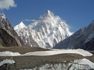 K2 (Baltoro Muztag, Karakoram, Pakistan)