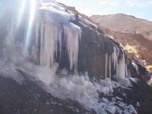 Ice in the Abra del Acay (Salta)