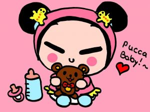 Pucca drawing