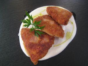 Cod with cauliflower cream