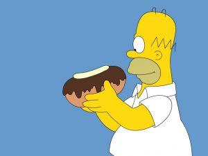 Homer gluttonous