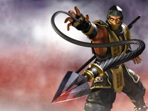 A character in Mortal Kombat