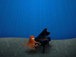 Pianist octopus