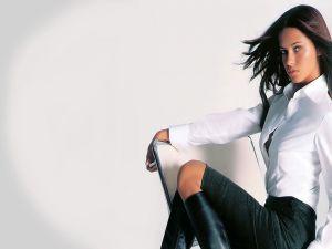 The model Adriana Lima