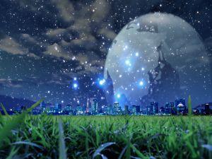 Luminous city