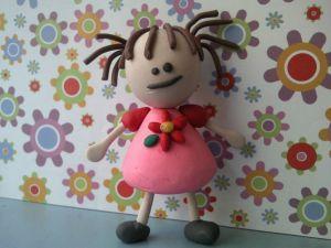 Plasticine doll