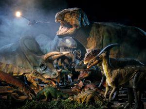 Imposing dinosaurs
