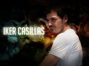 The Spanish footballer, Iker Casillas