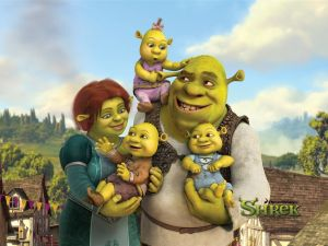 Sherk and his family