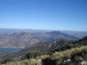View of Olvera from Cerro Coros (Puerto de las Palomas)